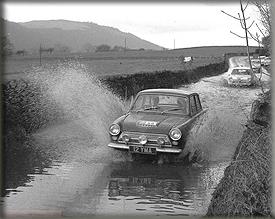 Phil Simister & Don Barrow - RAC Rally 1963
