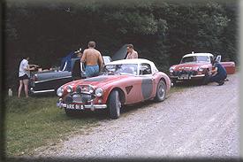 Henry Liddon & Don Barrow - Recce 1964 Spa Sofia Liege Rally