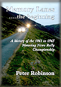 Don Barrow - 1961 - 1965 Motoring News Championship - Memory Lanes 'The Beginning' by Peter Robinson